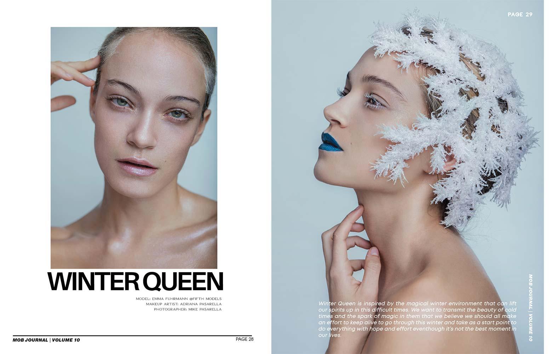 editorial winter queen